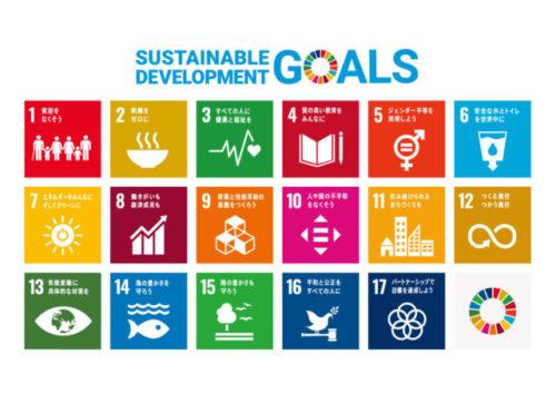SDGsへの取り組みに賛同しています